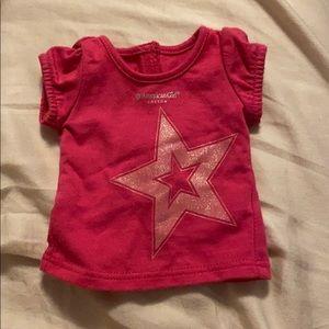 2/$15 American Girl Doll Shirt